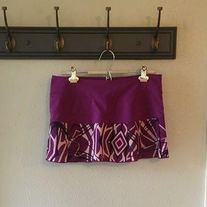 Nike Purple Dri-Fit Athletic Skirt